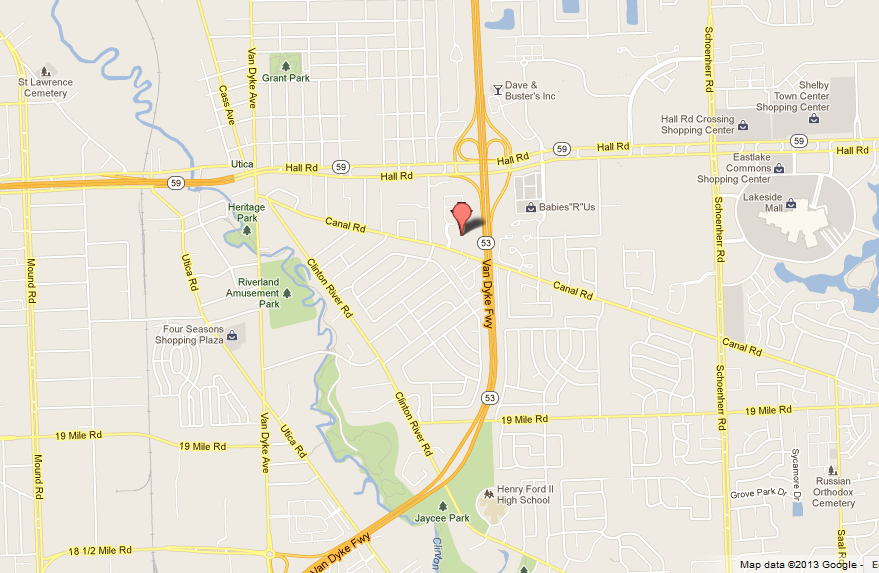 Google Map of Covenant Baptist Church